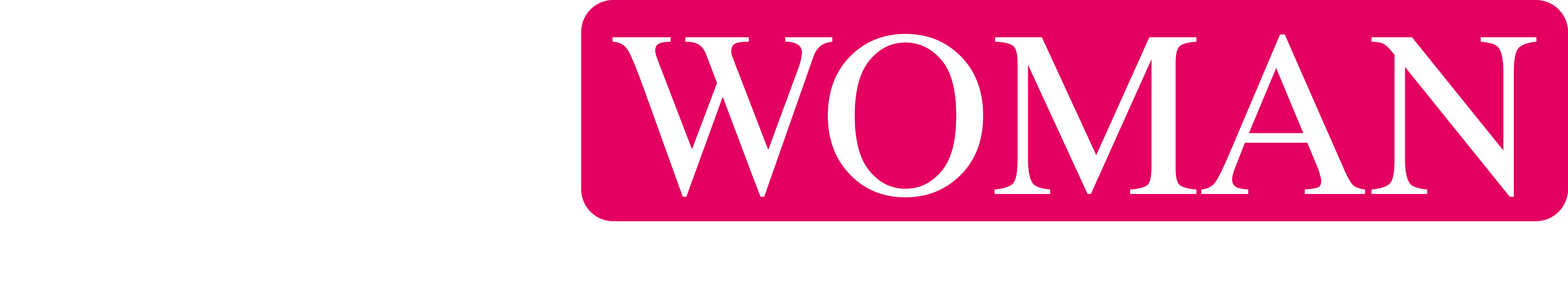 I AM WOMAN LOGO 2019 Rose Pink