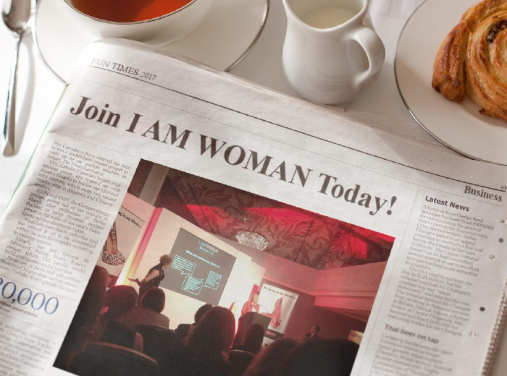 Join I AM WOMAN Today image