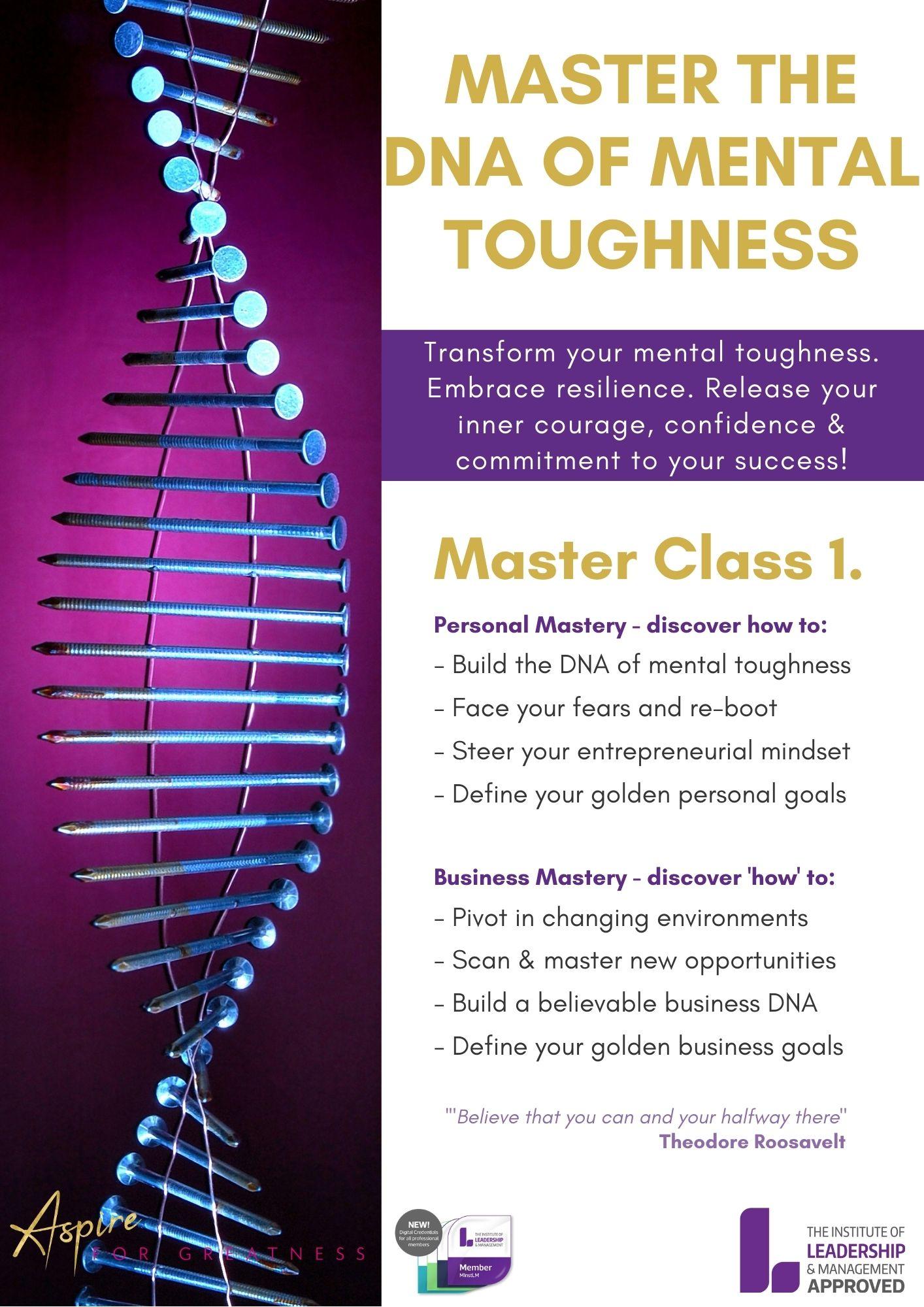 Master Class 1.